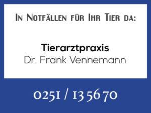 Tierarztpraxis Vennemann - Rufbereitschaft @ Tierarztpraxis Vennemann