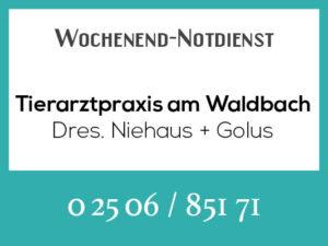 Tierarztpraxis am Waldbach - Wochenend-Notdienst @ Tierarztpraxis am Waldbach