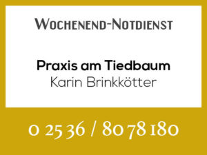 Brinkötter Tierarztpraxis am Tiedbaum - Wochenend-Notdienst @ Tierarztpraxis am Tiedbaum